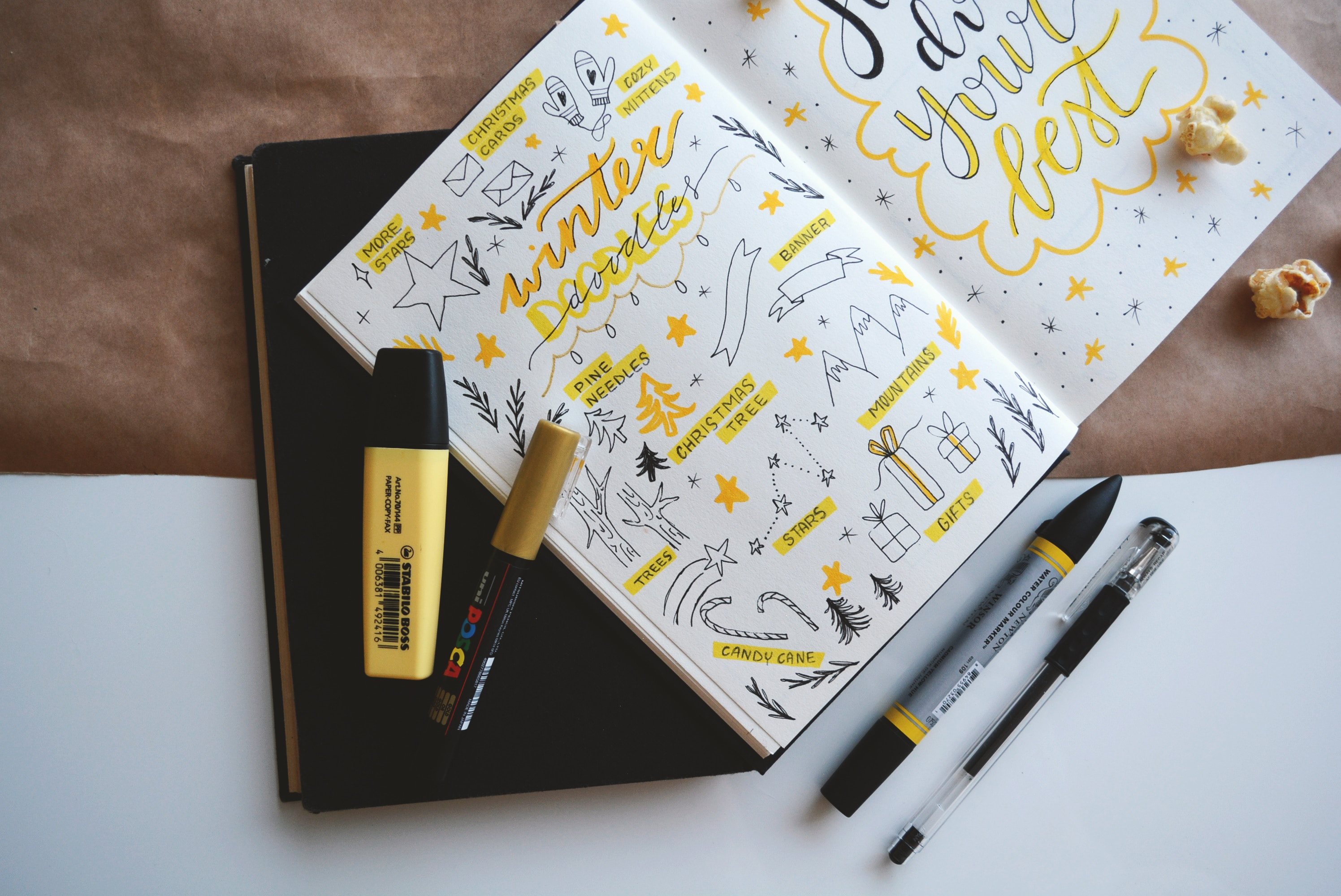 100+ Bullet Journal Collection Ideas To Inspire You